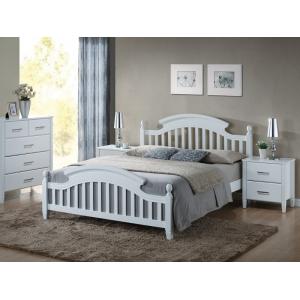Łóżko Lizbona 140x200 biały