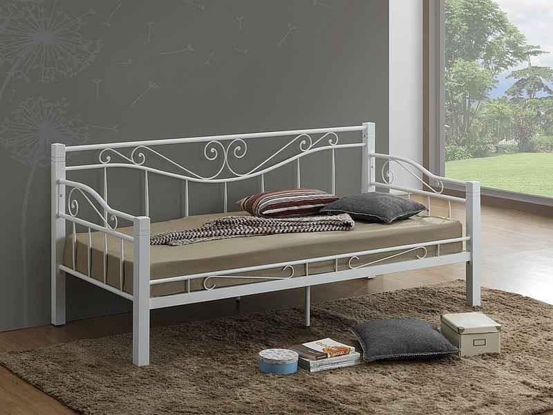 Łóżko Kenia 90x200 białe
