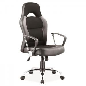 Fotel obrotowy Q-033 - Czarny
