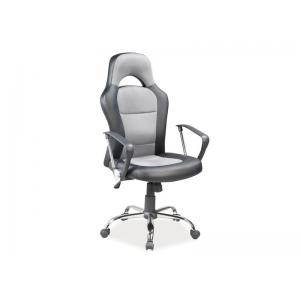 Fotel obrotowy Q-033 - czarno szary