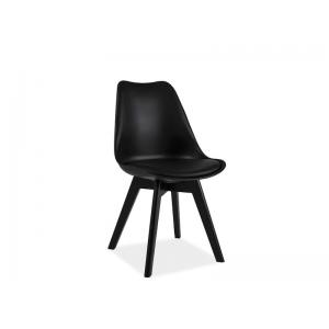 Krzesło Kris II czarny stelaż