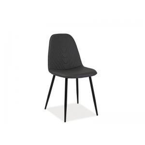 Krzesło Teo A morski, curry, szary