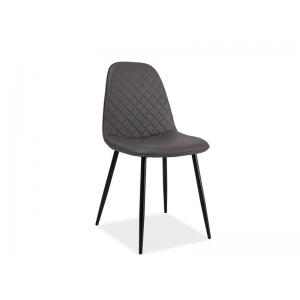Krzesło Teo C morski, szary
