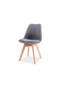 Krzesło Dior nogi dębowe