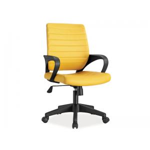 Fotel obrotowy Q-051 - żółty