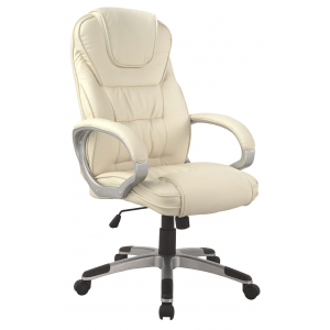 Fotel obrotowy Q-031 - beżowy