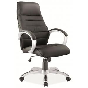 Fotel obrotowy Q-046 - Czarny
