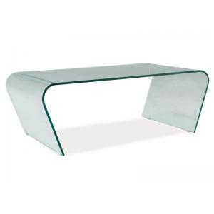 Ława szklana stolik Tesla 60x120