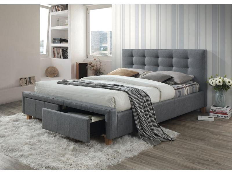 łóżko Tapicerowane Ascot 160x200