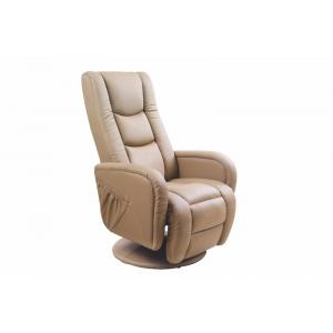 Fotel rozkładany PULSAR  z funkcją masażu i podgrzewania beżowy