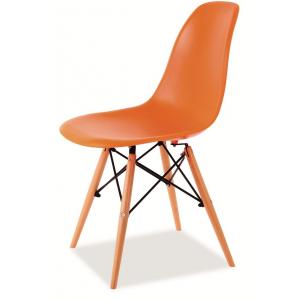 Krzesło ENZO - Pomarańczowy