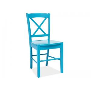 Krzesło drewniane CD-56 Signal - Niebieski
