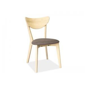 Krzesło CD-37 - Dąb bielony / szary