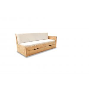 Łóżko Rozkładane Dwuosobowe DUO B 180X200