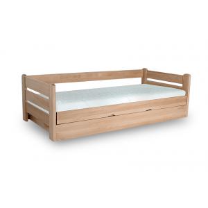 Łóżko Jednoosobowe DREAM 90x200 Bukowe