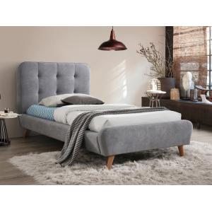 Łóżko tapicerowane Tiffany 90x200 Signal