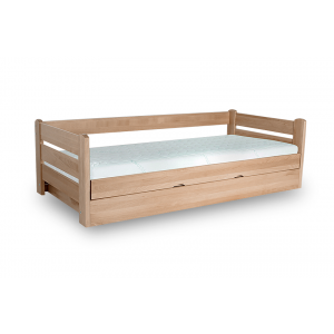 Łóżko Jednoosobowe DREAM 100x200 Bukowe