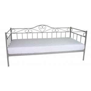 Łóżko Padwa 90x200 szare Furni