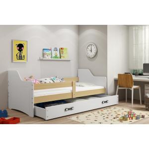 Łóżko SOFIX pojedyncze z szufladą 160x 80 cm