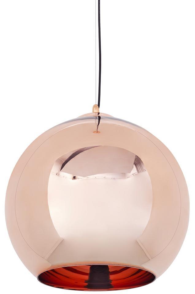 Lampa wisząca BOLLA 45 miedziana
