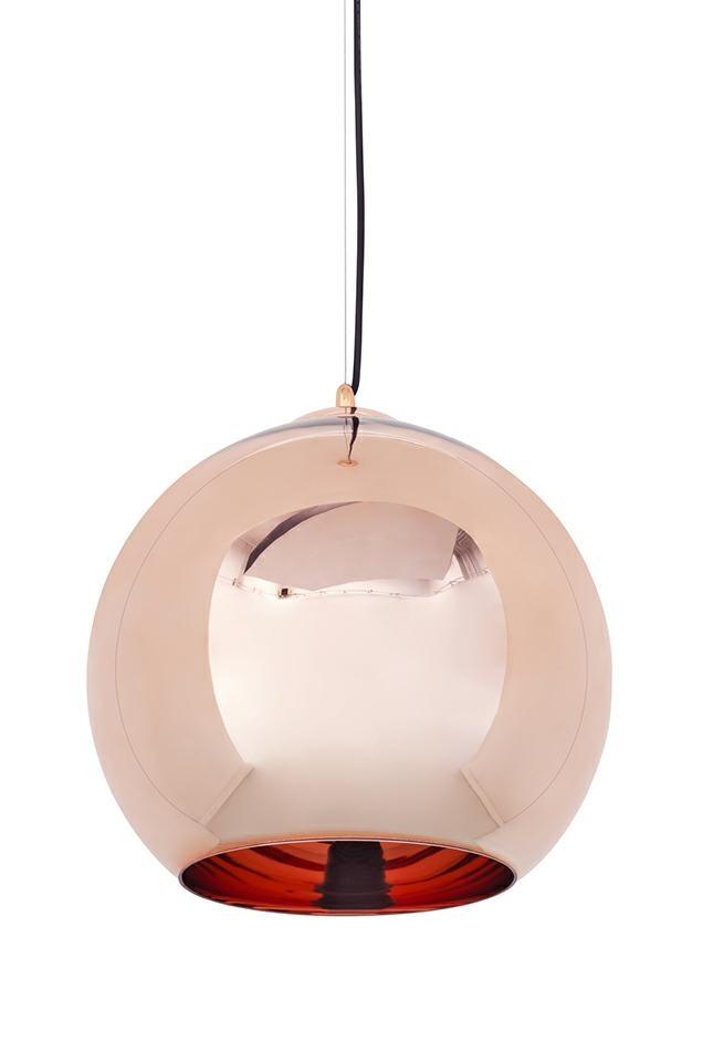 Lampa wisząca BOLLA 35 miedziana