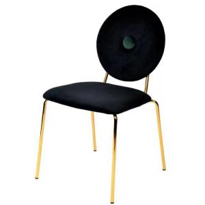 Krzesło Barocco czarne welur