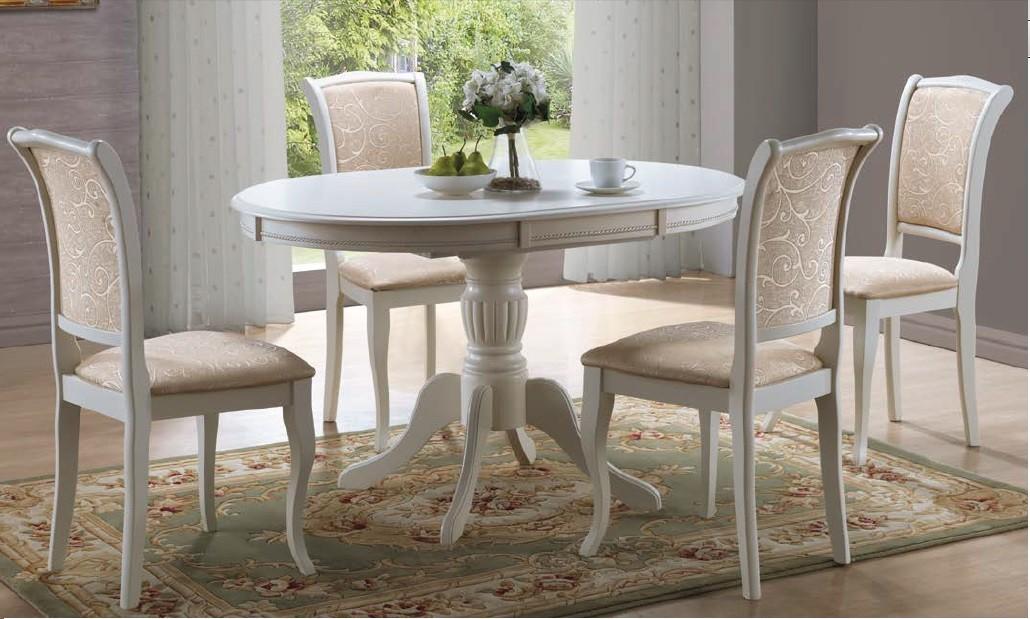 Stół Olivia bianco ( ecru)