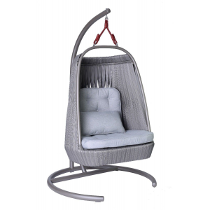 Fotel ogrodowy COCOON ART DECO szary Miloo