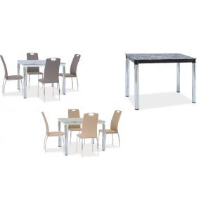 Stół Damar II 100x60 nogi chrom