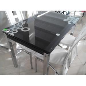 Stół GD-017 110(170)x74 - Czarny
