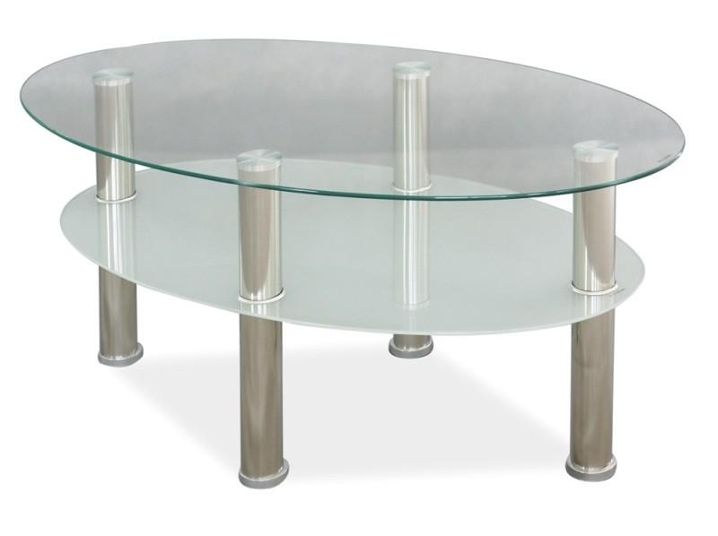Ława szklana Leo A 90x50