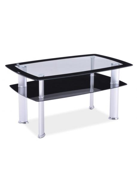 Ława szklana, stolik Daria C 110x65