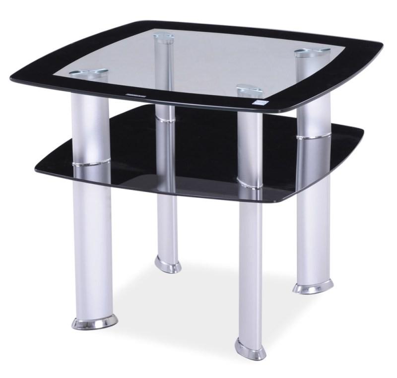 Ława szklana, stolik Daria D 60x60