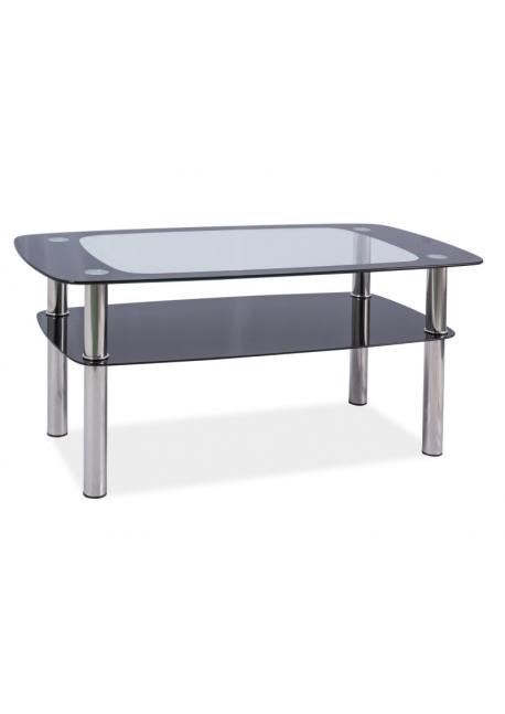 Ława szklana, stolik Rava C 100x60