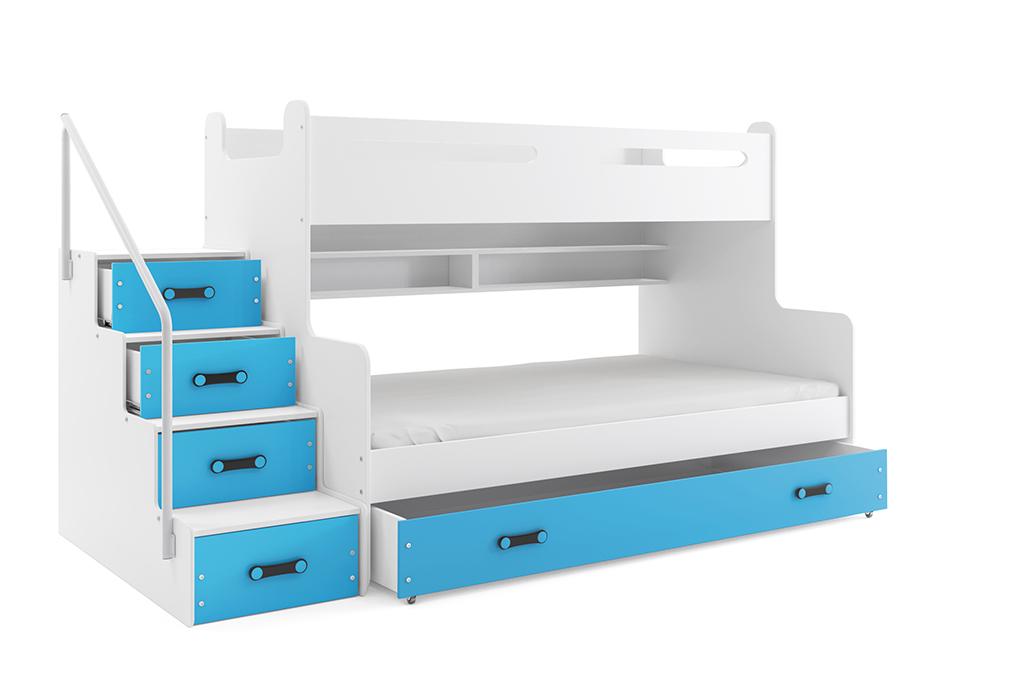 łóżko Piętrowe Trzyosobowe Max 3 Dostawca Mebli
